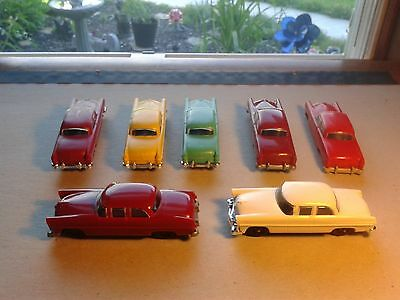 7 Replacement Cars For Lionel 6414 Auto Loader Train Car O Gauge