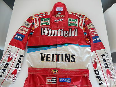 Ralf Schumacher Winfield Williams F1 Sparco promotion race suit 1999 >VERY RARE<