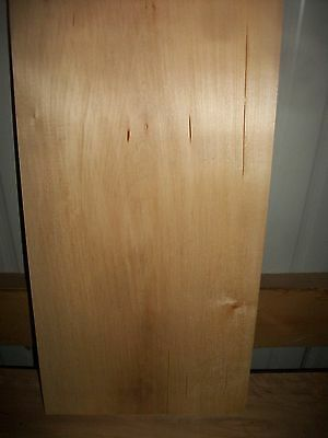 """1 Pc Basswood Lumber Wood Air Dried Board 1 5/8"""" Thick Lot 490N  Block Blank"""