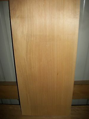 """1 Pc Basswood Lumber Wood Air Dried Board 1 9/16"""" Thick Lot 491N  Block Blank"""