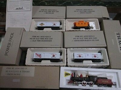 HO Scale Anheuser Busch Old Timer Train Set by Bachamnn