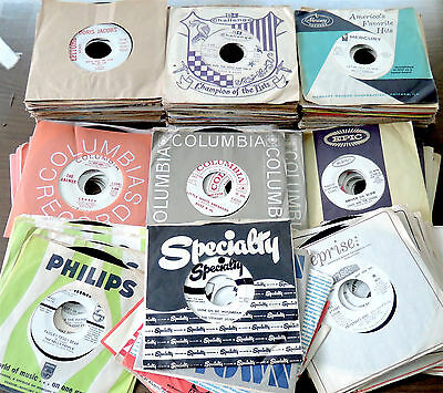 Lot of 125 | oldies r&b soul rock 45s from the 50s & 60s | WHITE LABEL PROMOS