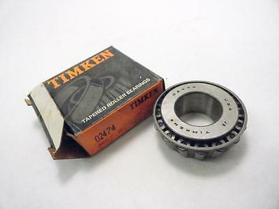 """140821 New-No Box, Timken 2474 Tapered Roller Bearing Cone, 1-1/8"""" ID"""