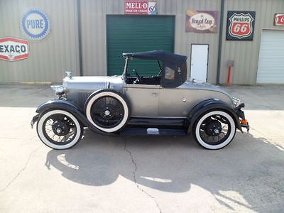 1929 Ford Model A Shay 1929 Ford Model A Shay Roadster Flathead 4 Cylinder 3 Speed Manual Runs Great!!