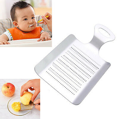 New Kitchen Grater Garlic Fruit Grinding Gadget Stainless Steel Grinder Crusher