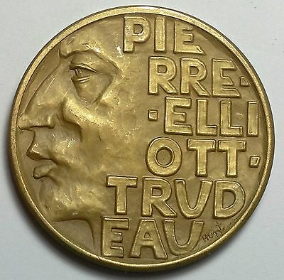 Pierre Trudeau Medal, Prime Ministers Dinner-Toronto March 5,1969