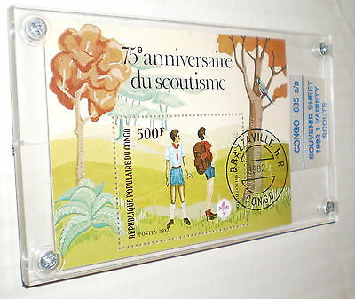 75th Anniversary of Scouting Commemorative Stamp – Republic of Congo (1982)