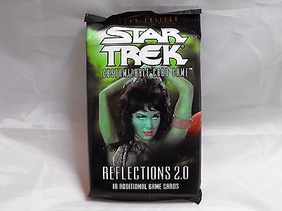 Star Trek Ccg 2E Reflections 2.0 Sealed Booster Pack Of 18 Cards