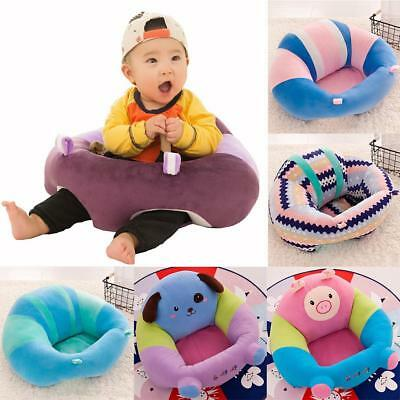 Baby Support Seat sit up Soft Chair Cushion Sofa Plush Pillow Toy