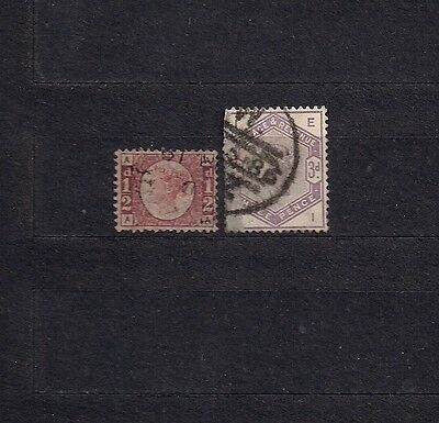Great Britain lot of 2 early stamps