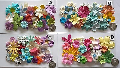 Scrapbooking No 444 - 18 Prima Paper Flowers - 4 Different Packs Available