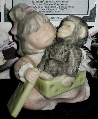 Enesco Kim Anderson Pretty As A Picture Figurine I Love You Just The Way You Are