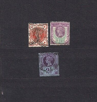 Great Britain lot of 3 early stamp,