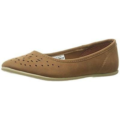 Carters 3828 Girls Mana Brown Toddler Flats Shoes 10 Medium (B,M) BHFO