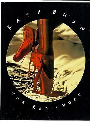"""Kate Bush 1993 The Red Shoes 8 1/2"""" x 11"""" Promotional Handbill"""