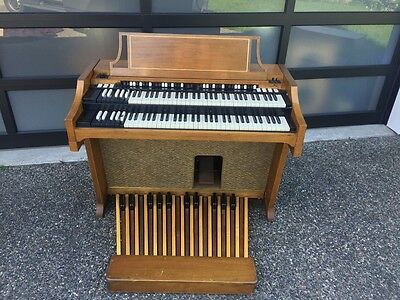 1961 Hammond A100 Organ Worldwide Shipping! B3 C3 just serviced!