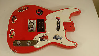 Fender / Squier 51 Electric Guitar Body Fiesta Red (Refinish) Loaded Electronics