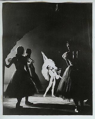 Eliot Elisofon VINTAGE Ballet Dancers Press Photo