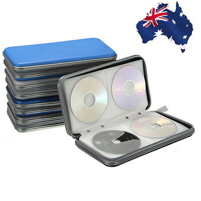 1pc 80x Disc CD DVD Portable Storage Case Wallet Hard Box Bag Holder NewOUO  Z,U