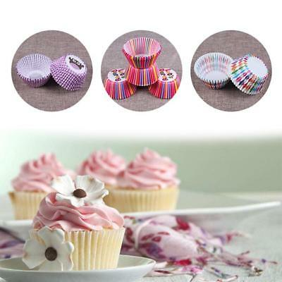 100 PCS Baking Muffin Kitchen Cake Cup Cases Christmas Liners Cupcake Paper - CB