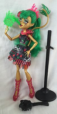 Monster High Doll Jinafire Freak Du Chic Ex Cond