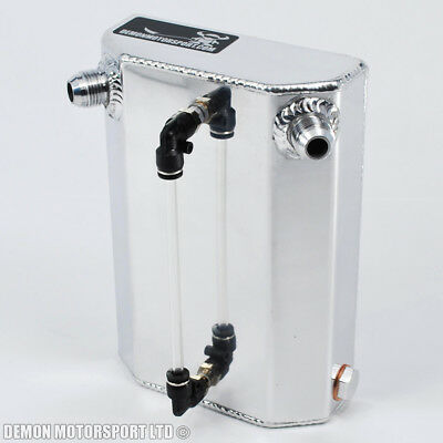 1 Ltr AN10 -10 Alloy Blow By Oil Breather Catch Tank Can - Drag Drift Rally Race