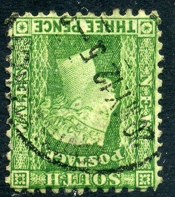 Stamp NSW SG226 F.W, P12, WMK invert, used, combine shipping 29