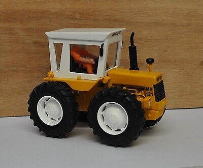 Mh 121 Series 3 Tractor,white Wheels,resin Based Conversion,britains 1/32 Scale,