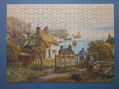 """1950's Tower Press Jigsaw Puzzle """"glorious Sunset"""" Complete & Boxed"""