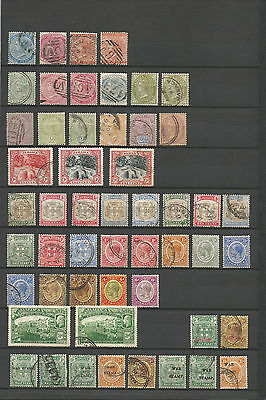 Jamaica 1883-1922  70 Old Stamps