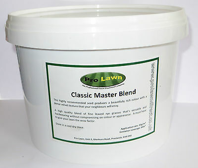 Prolawn Classic Master Blend grass seed high quality lawn seed coverage 60m2