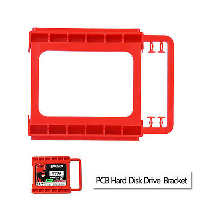 2.5 to 3.5inch SSD to HDD Screw-less Mounting Adapter Bracket Hard Drive Holder