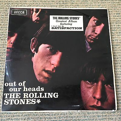 Rolling Stones - Out Of Our Heads - Rare original New Zealand Mono vinyl LP