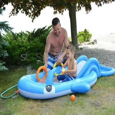 "60"" Ride On Swimming Pool Dolphin Inflatable Rider Beach Toy Lilo Float Kids New"