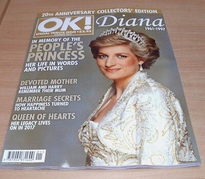OK! Magazine Special Tribute Issue SUMMER 2017 Diana; 20th Anniversary Edition