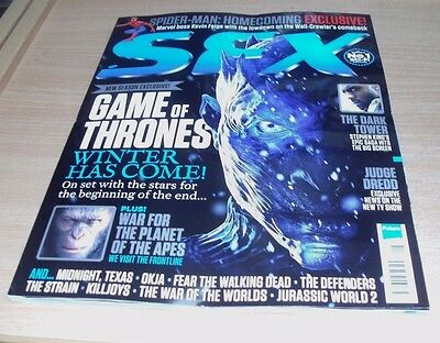 SFX magazine AUG 2017 Game of Thrones, Spider-Man Homecoming, Judge Dredd & more