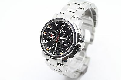 Corum Admirals Cup Chronograph Stainless Steel Men's Watch Automatic