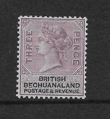QUEEN VICTORIA 1888 3d LILAC AND BLACK MM    REF 852