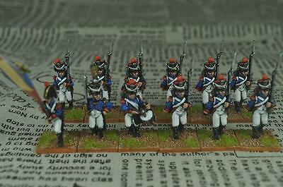 28mm Napoleonic painted French Infantry Battalion FN03