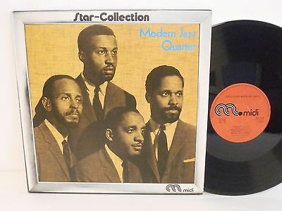 50s 60s 70s Jazz MODERN JAZZ QUARTET star collection 1973 UK Vinyl LP Mint