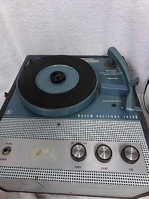 Vintage Rheem Califone suitcase record player