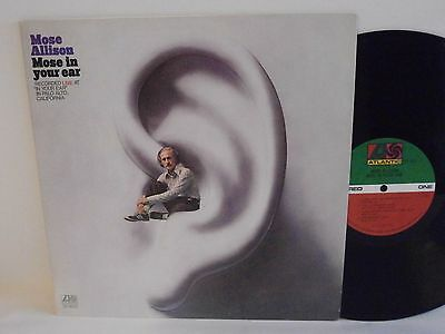 70s Jazz MOSE ALLISON mose in your ear U.S. Vinyl LP N Mint