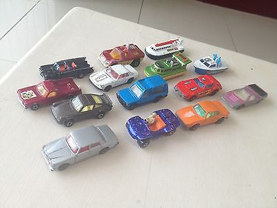 Matchbox and Corgi Cars From 1970's