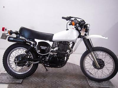 1977 Yamaha XT500D Enduro Unregistered US Import Barn Find Classic Restoration