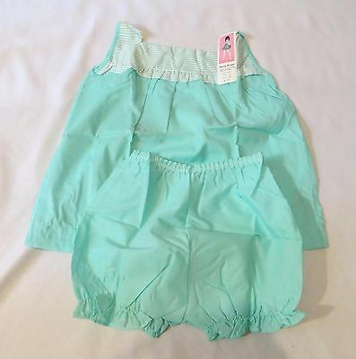 Vintage Baby Doll PJs Pajamas Shirt Top Panties Dead Stock sz 6X