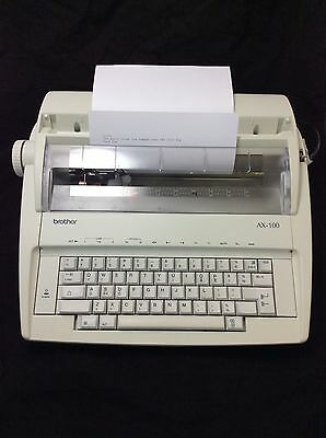 Brother AX-100 Electronic Portable Typewriter