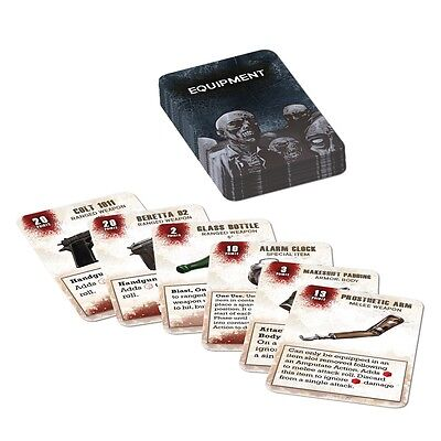 Mantic The Walking Dead All Out War Miniatures Game Equipment Vol.1 Booster