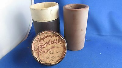 ancien disque cire cylindre tube gramophone phonographe populaire une perle