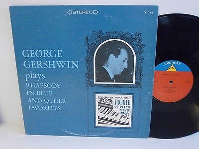 Archive Jazz GEORGE GERSHWIN rhapsody in blue U.S. Vinyl LP N Mint