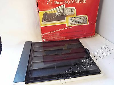 PATERSON 35mm Proof  PRINTER Boxed fully working